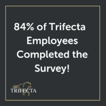 84% of Trifecta Employee Completed the Survey! (2)